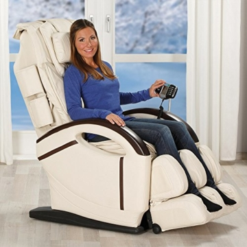 Massagesessel »Sensus« Sessel Relaxsessel Entspannungssessel (Creme) - 1