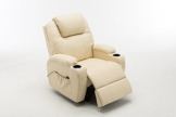 MCombo Massagesessel Fernsehsessel Relaxsessel mit Vibration+Heizung - 1